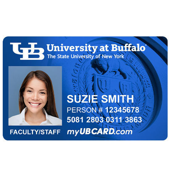Picture of Faculty/Staff Replacement UB Cards